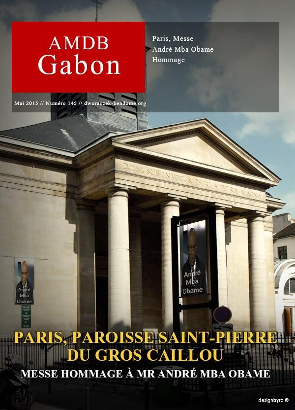 Mba Obame André : Une messe hommage a eu lieu à Paris