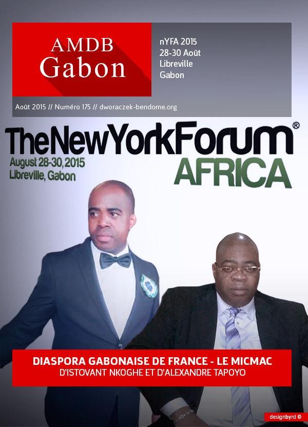 NYFA2015-DIASPORA GABONAISE DE FRANCE : Le micmac d'ALEXANDRE TAPOYO et ISTOVAN NKOGHE