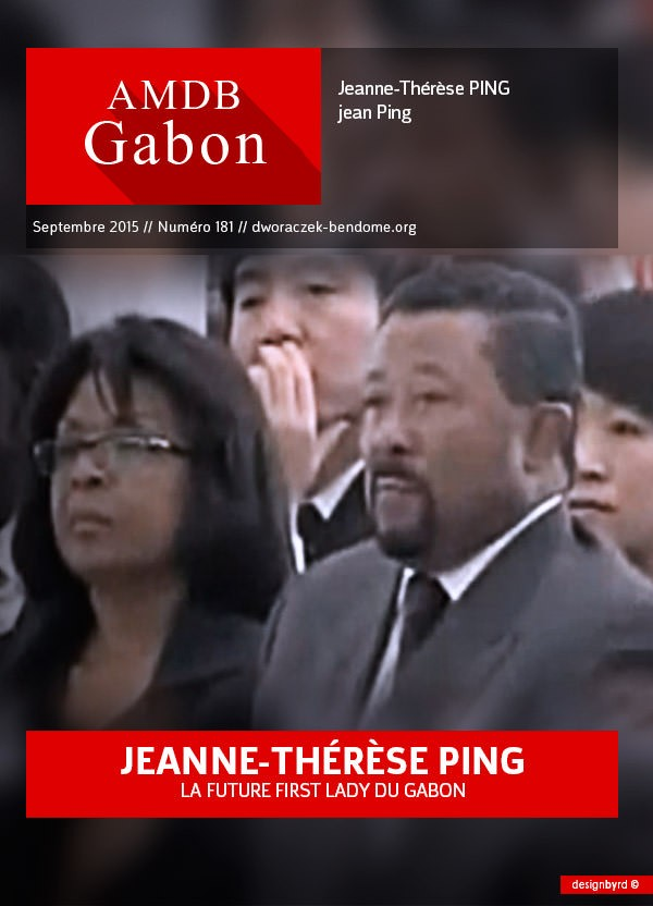 PEOPLE : Jeanne-Thérèse PING, l'invisible  future first Lady du GABON