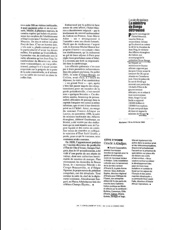 PRESIDENTIELLE 2016 : Jean Ping, revue de presse et retour sur le passé