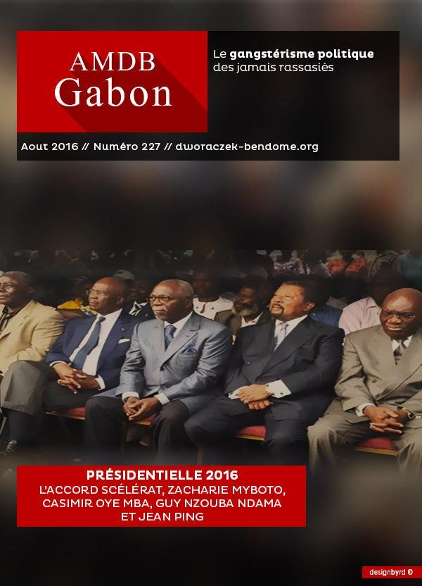 Présidentielle 2016 : L'accord scélérat Zacharie Myboto, Casimir Oye Mba, Guy Nzouba Ndama et Jean Ping