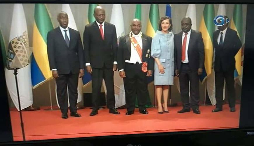 Les leaders de l'opposition présents à la prestation de serment d'Ali Bongo Ondimba