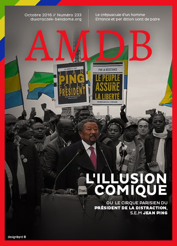 Coup de massue pour le Président de la République du Trocadéro Jean Ping