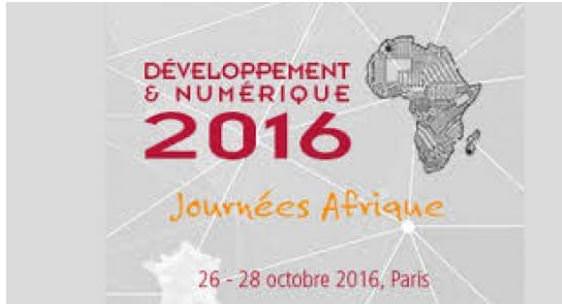 France : Les journées Afrique Développement et Numérique 2016