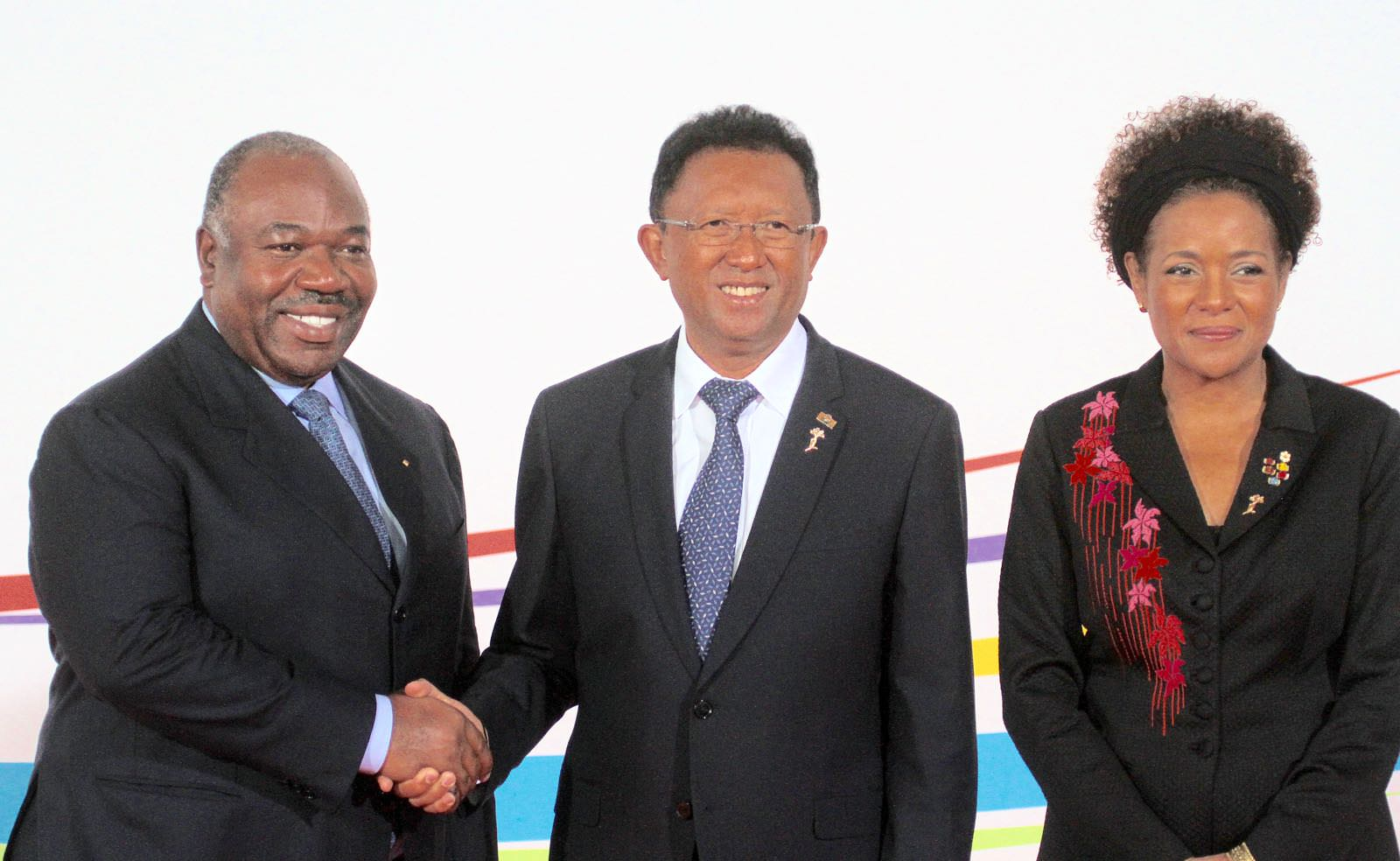 Madagascar : Ali Bongo Ondimba à la cérémonie d'ouverture du 16ème Sommet de la Francophonie