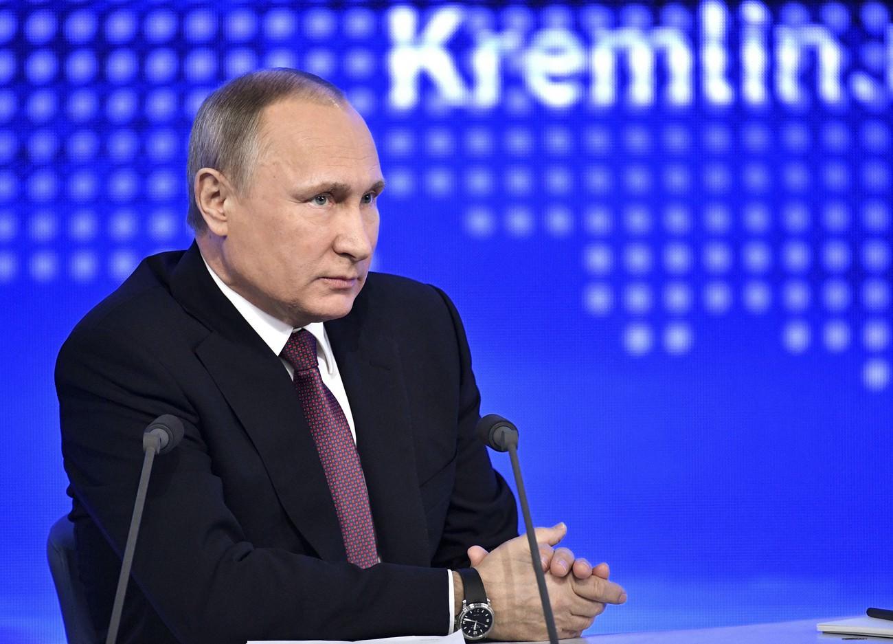 Quelques grandes lignes de la conférence de presse annuelle du président russe Vladimir Poutine