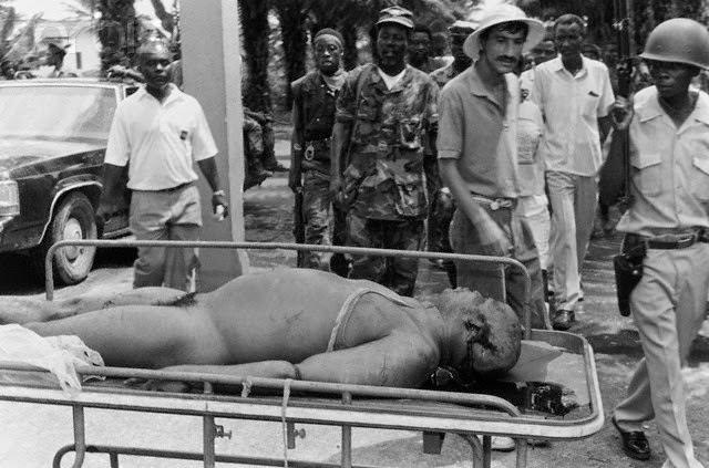 L'horrible fin du président libérien Samuel Doe: Torturé et exécuté devant les Caméras