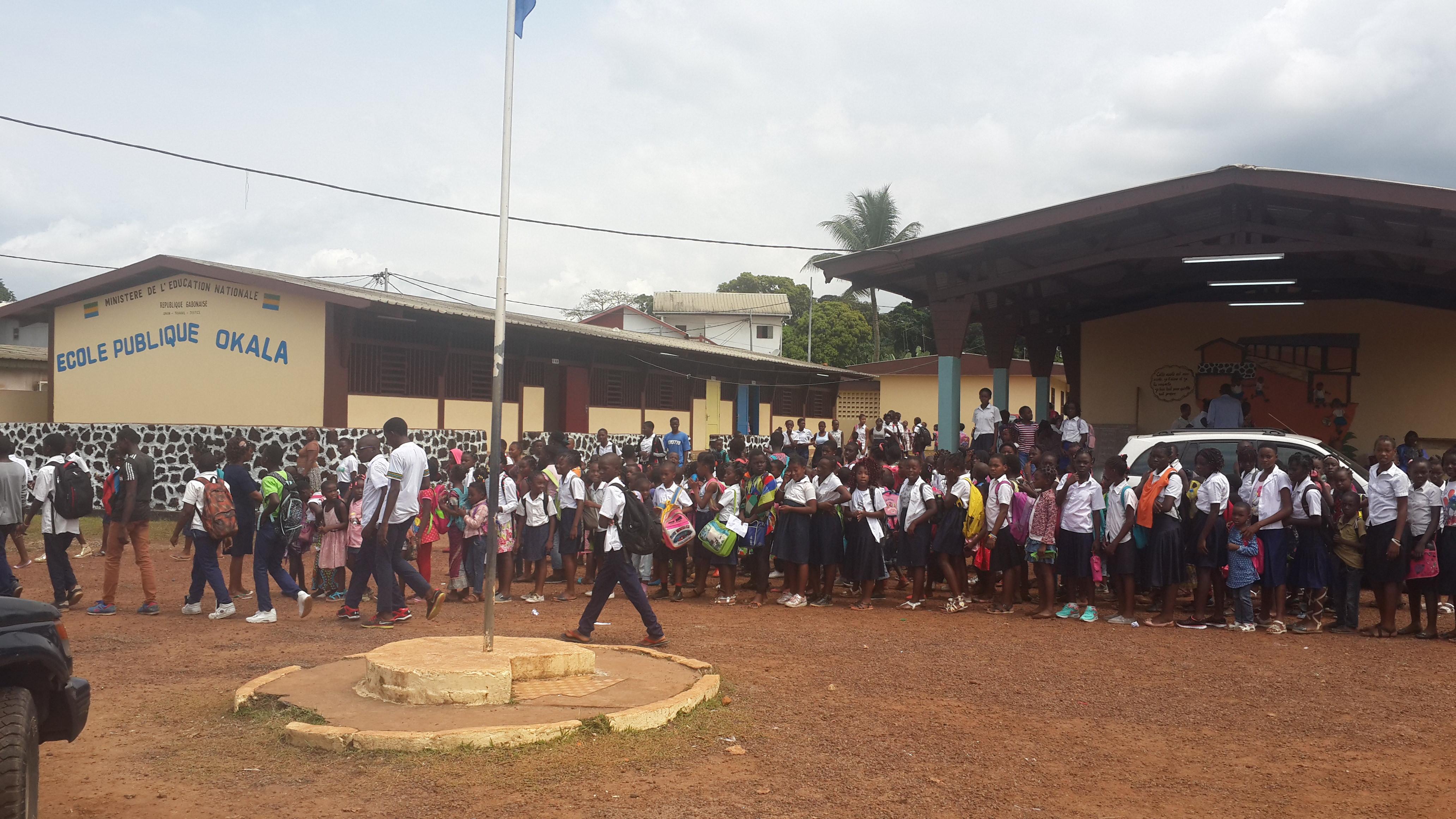 Déficit des salles des classes au Gabon: bientôt la construction des nouvelles écoles