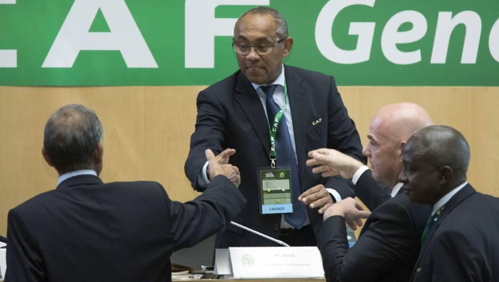 Foot africain: Ahmad nouveau président de la CAF à la place d'Hayatou