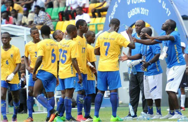 FOOT : 12E ÉDITION DE LA COUPE D'AFRIQUE DES U17-POULE A : AUJOURD'HUI GHANA-GABON, À PORT-GENTIL