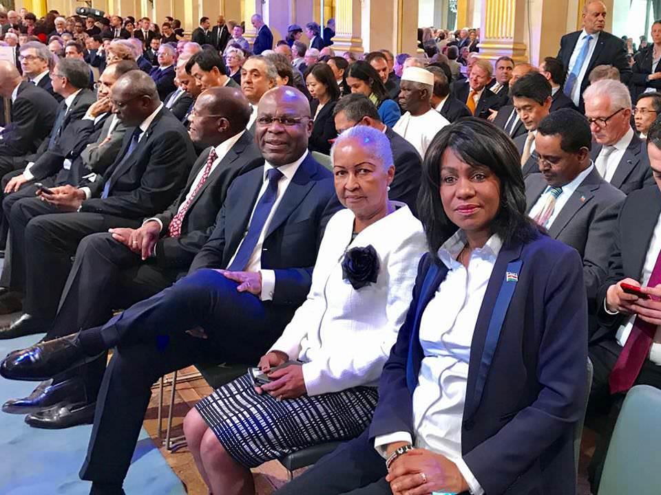 France : Ngoyo Moussavou a représenté Ali Bongo à la cérémonie officielle d'investiture d'Emmanuel Macron