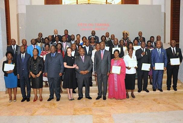 Gabon : Les méritants à l'honneur