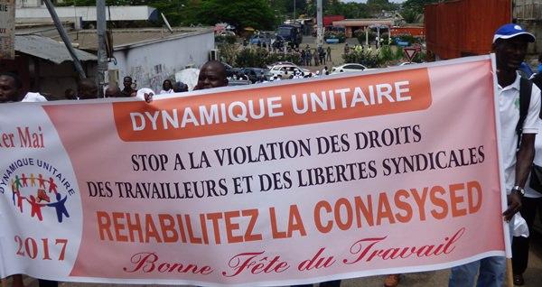 La police interdit une contre manifestation du 1er mai au rond-point d'Awendje