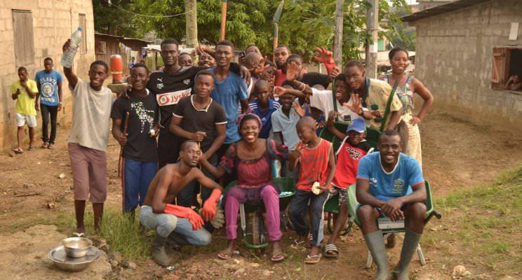 Maman Julie, responsable de l' ONG Micone de Kinguélé est décédée à Libreville