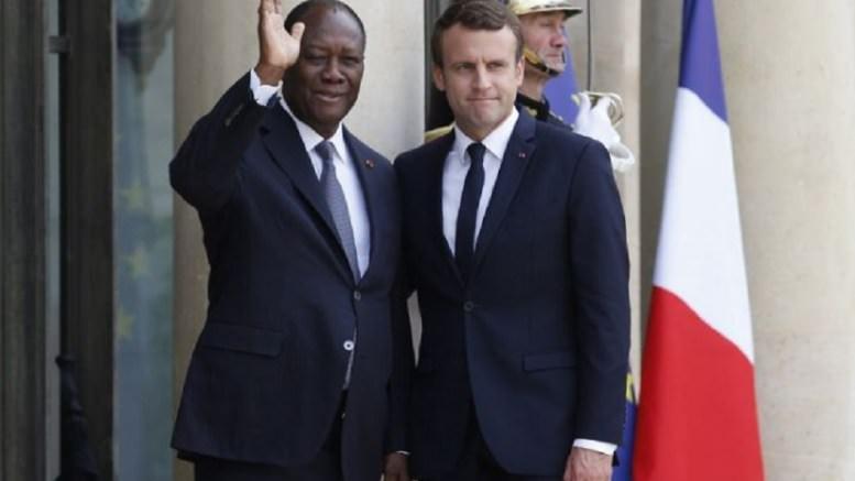 Fort attachement de la France à la Côte d'Ivoire et au Sénégal