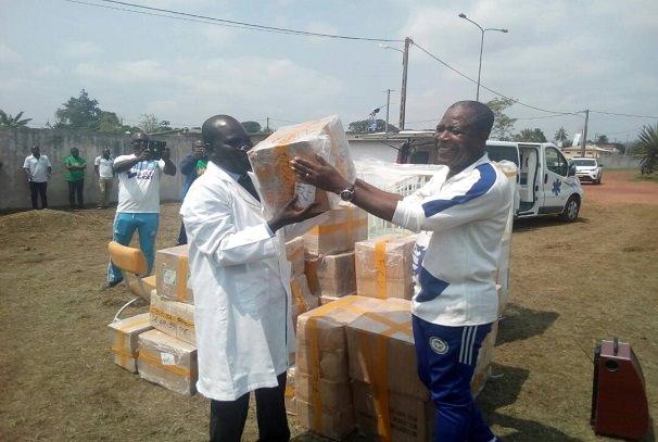 Gabon : Le geste de cœur d'Otounga Ossibadjouo pour le Centre médical d'Okondja