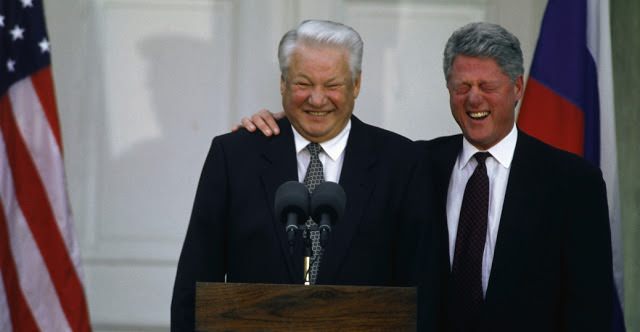 La victoire de Boris Eltsine aux élections de 1996 a été imposé par Bill Clinton