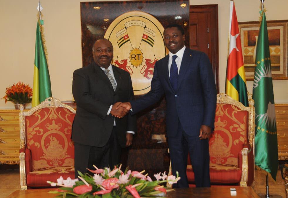 Lomé : Fin de la visite de travail et d'amitié du président Ali Bongo
