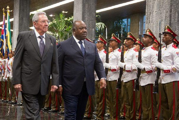 Gabon : Ali Bongo et Raul Castro, rencontre au sommet