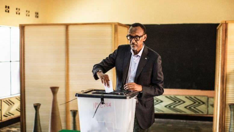 Présidentielle rwandaise : Kagame grand favori