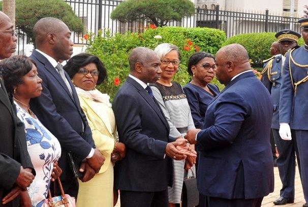 Indépendance du Gabon : Ali Bongo Ondimba au Mausolée Léon Mba
