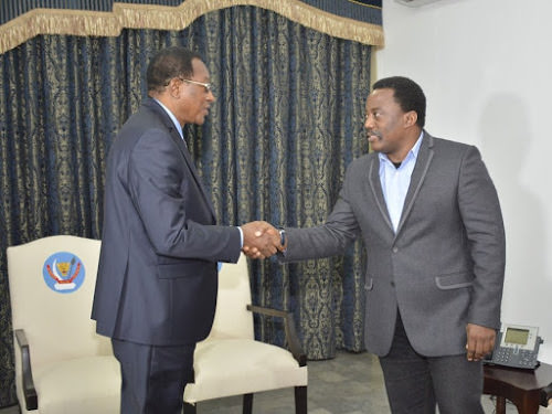 Joseph Kabila et Bruno Tshibala à Kananga pour la conférence sur la paix aux Kasaï