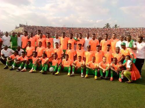 Foot-RDC : Fc Renaissance a présenté ses nouvelles recrues au stade Tata Raphaël
