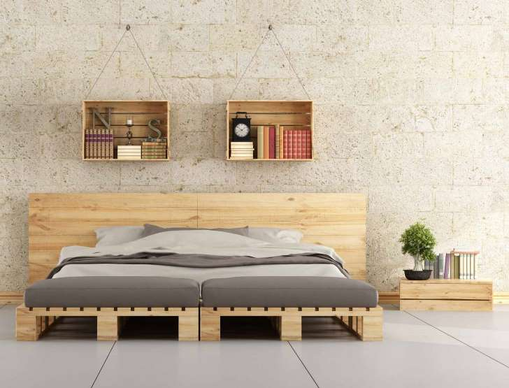 je fabrique mon lit en palettes comment dworaczek bendome. Black Bedroom Furniture Sets. Home Design Ideas