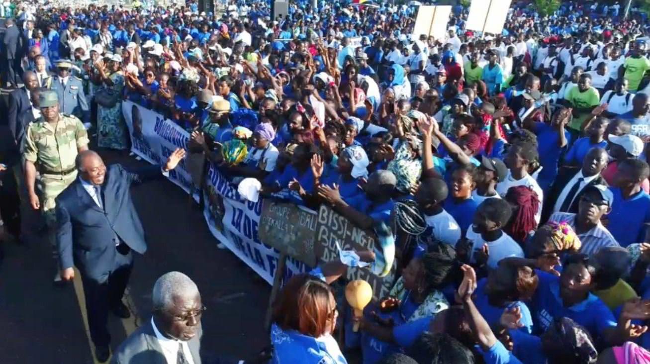 Ali Bongo Ondimba dans le Haut-Ogooué pour le lancement du FID