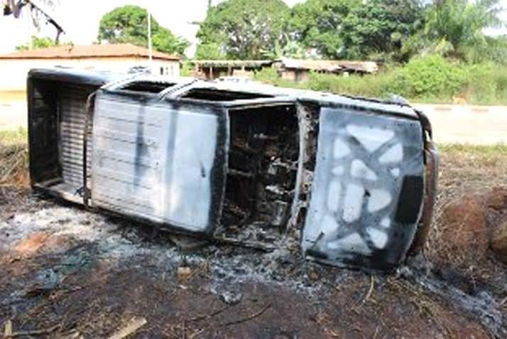 Deux morts et des blessés graves dans deux accidents de circulation sur les axes Franceville-Ngouoni et Mvengué-Franceville