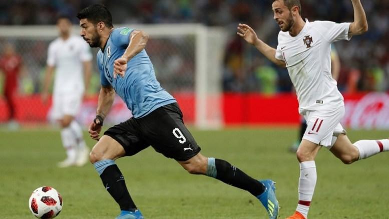 Mondial 2018 : l'Uruguay élimine le Portugal (2-1)
