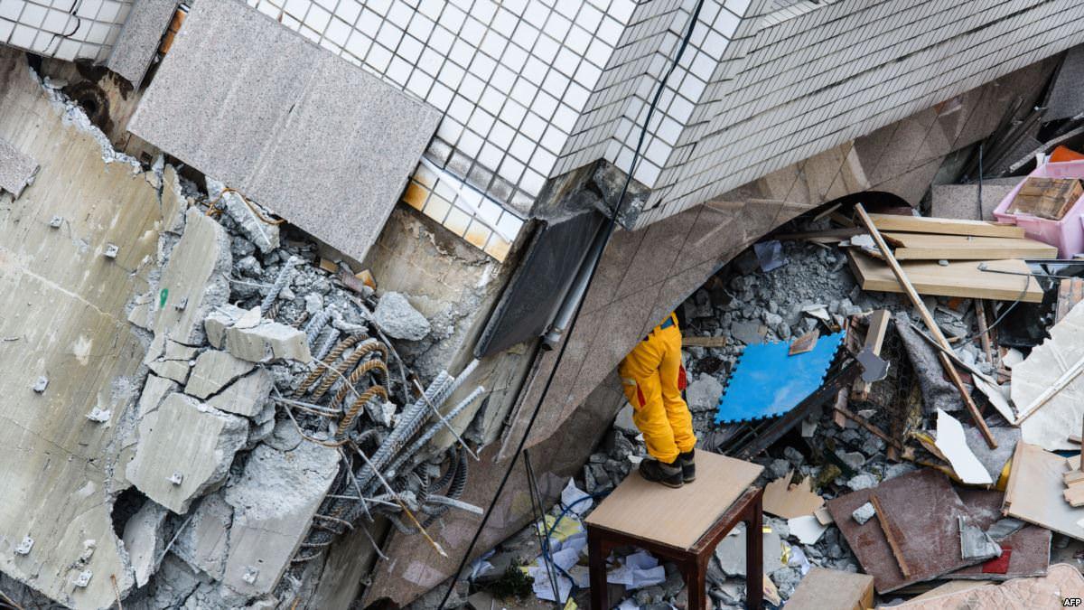 Tremblement de terre:  Taïwan ébranlé par un séisme de magnitude 5,7, ressenti fortement à Taipei
