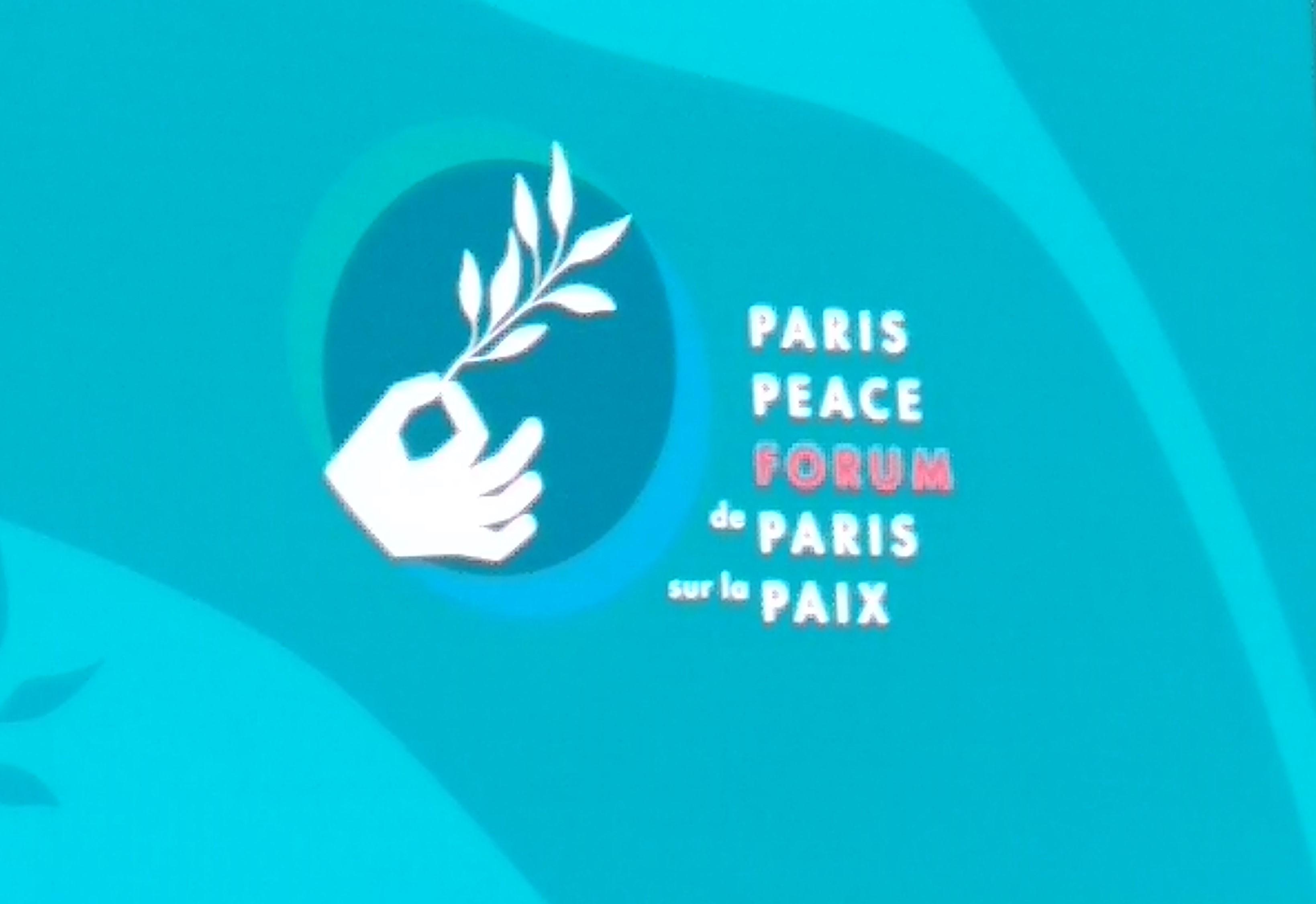 Multilatéralisme, action collective, des sujets abordés par Mme Pépécy OGOULIGUENDE, lors du Forum sur la Paix de Paris