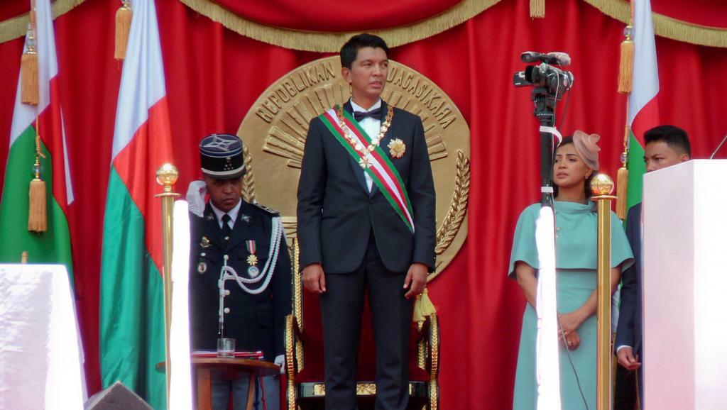 Madagascar: le président présente son premier gouvernement