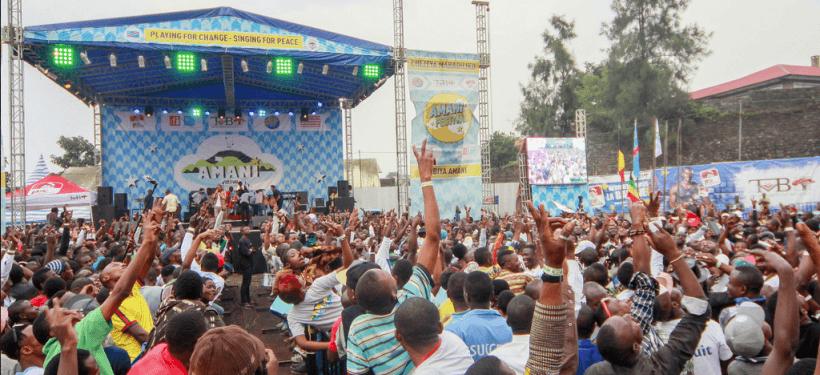RDC: des milliers de festivaliers vont chanter et danser ce week-end à Goma