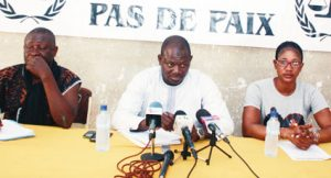 GREVE AU MINEFID  : Le Brassard noir annonce une marche-meeting le 3 mai