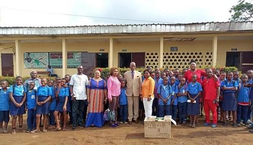 Action Citoyenne de la SONARA en faveur des Établissements Scolaires du Sud Ouest Cameroun