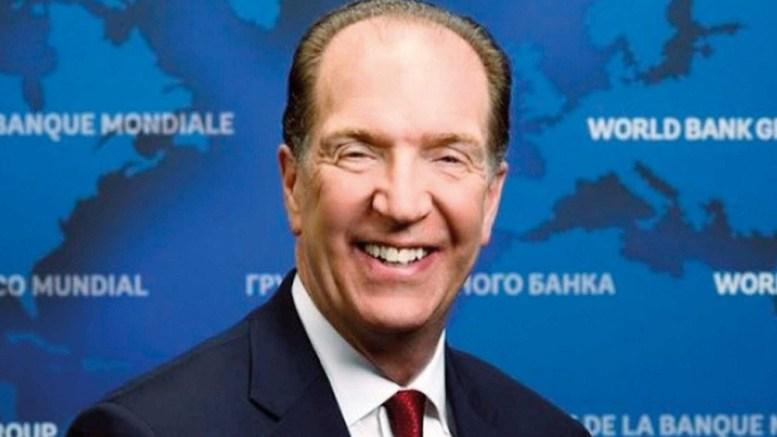 Economie: David R. Malpass est le nouveau président de la Banque mondiale.