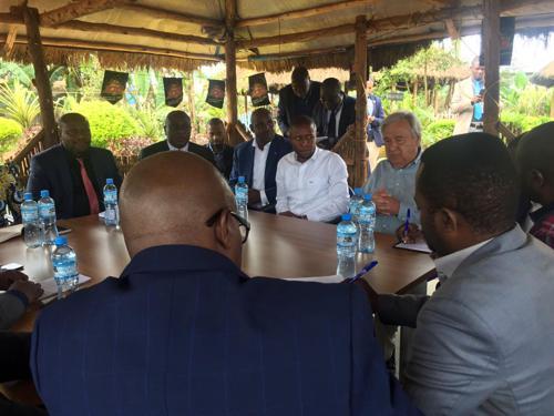 Députés du Nord-Kivu à António Guterres : « L'insécurité est devenue un véhicule d'Ebola »