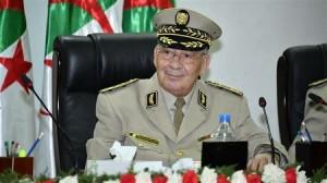 Le général Gaïd-Salah, chef d'état-major algérien. (Archives)