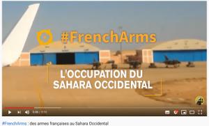 Sahara occidental: les armes de l'occupation marocaine