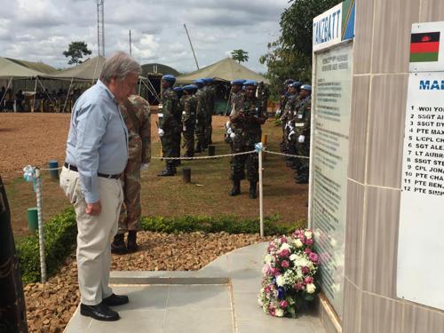 RDC : le chef de l'ONU présente ses condoléances aux victimes de violences