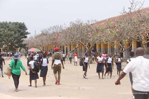RDC : les élèves reprennent le chemin de l'école