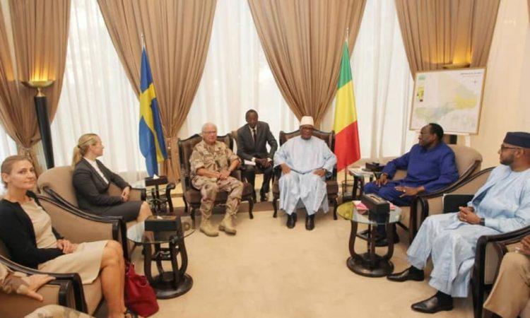 Coopération : Le Roi de la Suède reçu à Koulouba