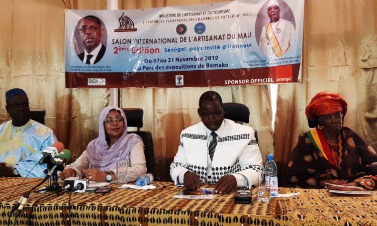 La 2e édition du Salon international de l'artisanat du Mali se tiendra du 7 au 19 novembre 2019