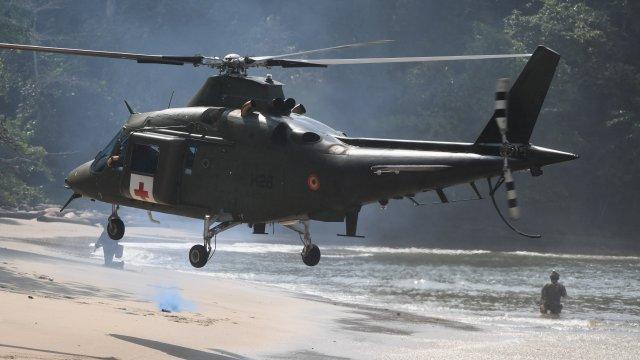 Tropical Storm, ou comment l'armée se prépare à opérer dans la jungle gabonaise