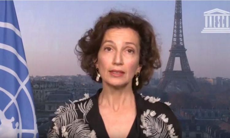 UNESCO : « L'éducation est une ressource précieuse pour l'humanité », dixit Audrey Azoulay