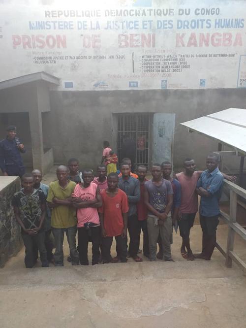 Prison de Beni : libération de 13 manifestants arrêtés depuis le mois de novembre