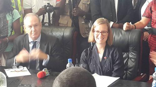 RDC : près de 43 millions USD d'aide du Canada pour plusieurs activités, dont le traitement à virus Ebola