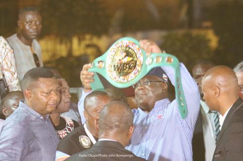 RDC : Junior Ilunga Makabu sacré champion du monde WBC Golden